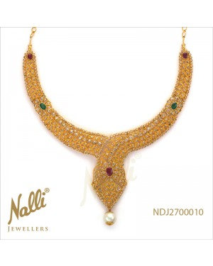UNCUT DIAMOND & RUBY EMERALD WITH PERAL