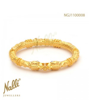 PLAIN KADA YALLI FACE BANGLE