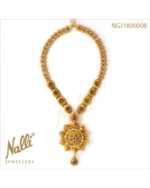 LONG NECKLACE WITH KUNDAN