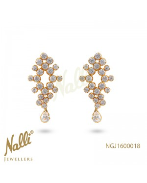 ZIRCON FANCY EARRINGS